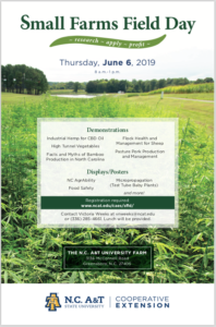 Small Farms Field Day Flyer