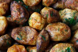 baked potatoes