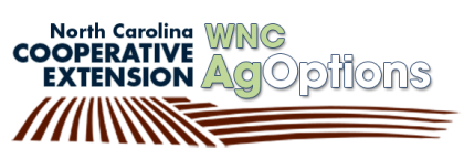 N.C. Cooperative Extension WNC AgOptions Logo